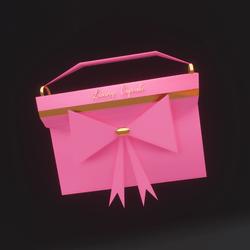 Luxury Cupcake Purse (Pink)