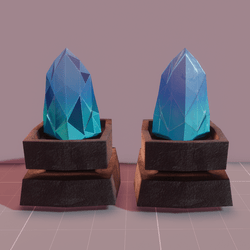 MMO Blue Crystals