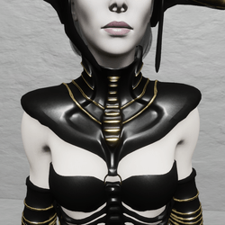 TKA SEXY ARMOR NECKLACE DIVA (RIGGED)