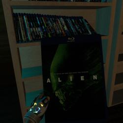 alien bluray case