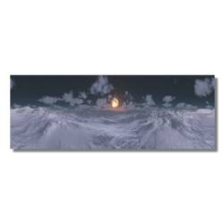 Skybox Winter Night