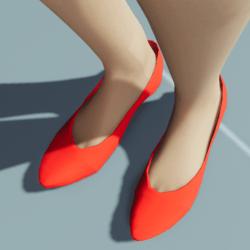 Stylish Classic High Heel Shoes VELVET RED