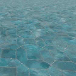 Oxidized Terracotta Tiles