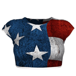 Let Freedom Ring Crop Top
