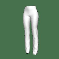 White Linen Slacks