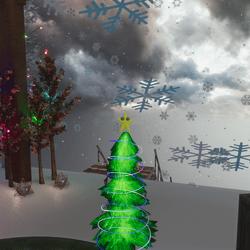 OG Emissive Holiday Tree