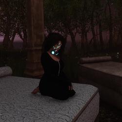 black denim onesie