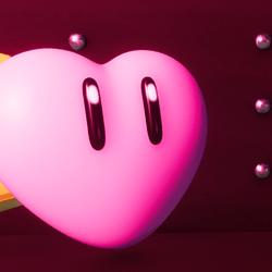 heart plush hehe