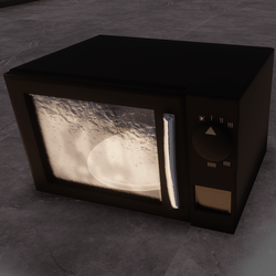 Microwave dark (interactive)