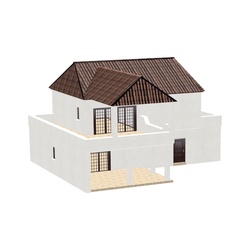 House with terrace