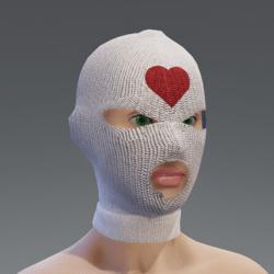 Balaclava - whiteheart female