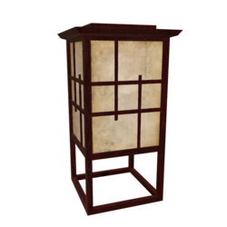 Asian Floor Lamp [2]