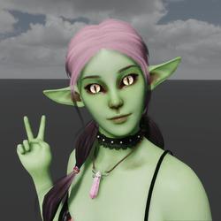 Goblin Avatar (Emissive Eyes)