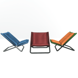 Junction chair with cushions