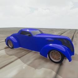 Hotrod - Blue