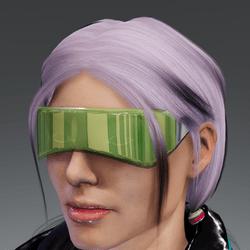 Saiborgu glasses - vint green