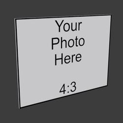4x3 Frameless Iamge Panel
