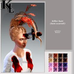 killer hair -base white