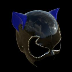 CATWOMAN MASK_ V2  BLUE_ EMISSIVE_