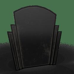Art Deco Mirror Dark Metal