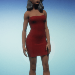 Small Red Party Dress