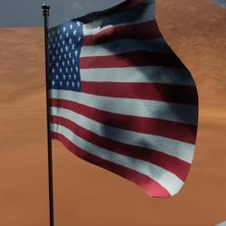 TKA Animated USA flag