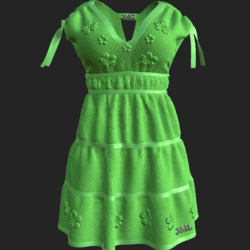 DROMA DRESS LIGHT GREEN