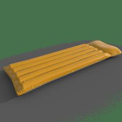inflatable mattress(orange)