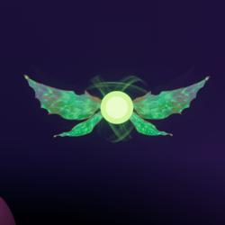 Green Pixie pet [Earing Slot]