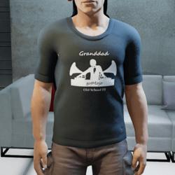 DJ GranddadgotMojo T-shirt