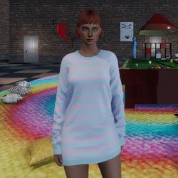 ✿ Sweater Mini Dress ✿