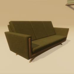 Mid Century Atomic Age Sofa