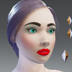 X - Alina - Pearl-Skin Avatar