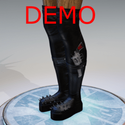 Spiked boots DEMO