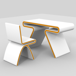 Futuristic Desk/Table
