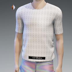 White Cool S T-Shirt