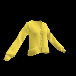 Devonshire Cardigan (Yellow)