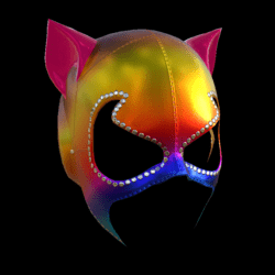 CATWOMAN MASK_ V2  COLORS A_ EMISSIVE_
