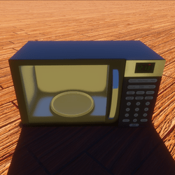 Modern Tech Microwave