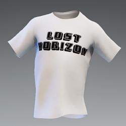 Unisex Lost Horizons White Logo Tee