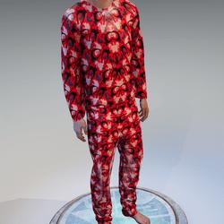 Bloody Pajamas Cat/Ghost