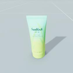 Sunblock Bottle