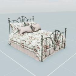 Antique Bed 4.1