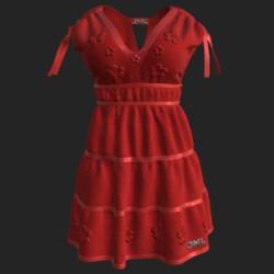DROMA DRESS RED