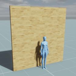 Block - Wall (3m, 0.1m, 3m)