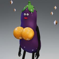eggplant enhancement oranges