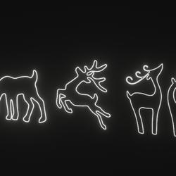 Reindeer Neon X4