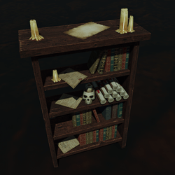 Loaded Bookcase