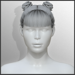 Issa - With Bangs (Hair)
