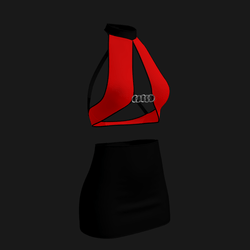 Leera Clubbing Outfit (Red/Black)